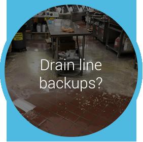 drain line backups